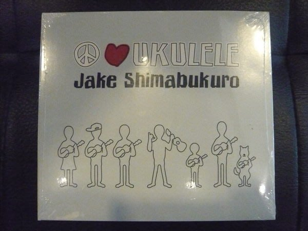 烏克麗麗夏威夷吉他演奏專輯 Jake Shimabukuro-Peace Love Ukulele