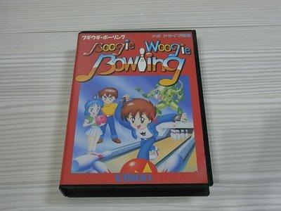 【小蕙館】MD日版卡帶 ~ boogie woogie bowling 動感保齡球 (盒裝)