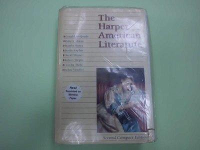 A2☆1996年『The Harper American Literature』Donald McQuade...著《Harper Collins》