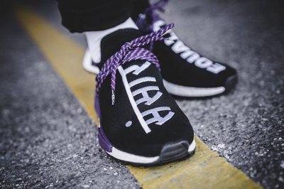 【S.M.P】Adidas Pharrell NMD Human Race 黑紫 菲董 聯名 全新公司貨 AC7033