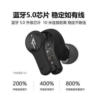 耳機1MORE/萬魔PistonBuds真耳機運動防水適用于蘋果安卓手機通用音樂耳麥官方旗艦店長續航通話降噪