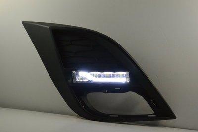 金強車業 MAZDA 3 2008-2013 改裝後視鏡殼 雙功能側燈 日行燈 晝行燈  (極勁灰36C)