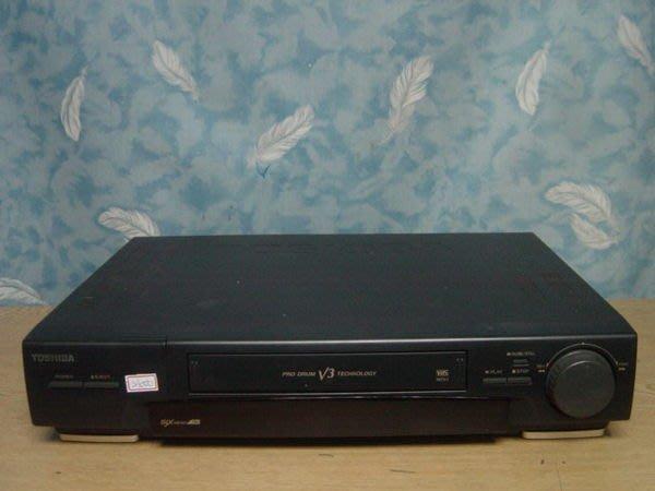 .【小劉二手家電】TOSHIBA  VHS 6磁頭錄放影機,壞機也可修理/回收!
