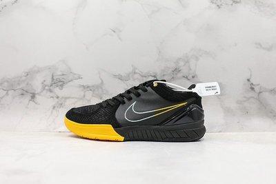 Nike Zoom Kobe 4  ZK4 黑黃 蛇紋 經典時尚 低筒 籃球鞋 AV6339-002 男鞋