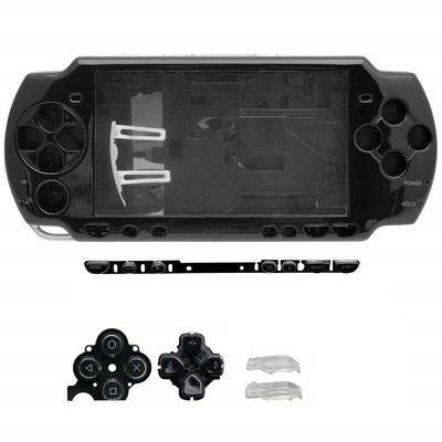 SONY PSP 2000 2007 副廠 全機外殼 機殼 專業維修 快速維修 鋼琴黑 黑色 含按鍵 不含螺絲 台中恐龍