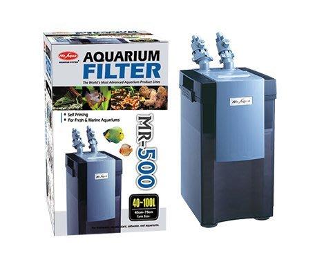 免運~新鮮魚水族館~實體店面 新款 水族先生Mr.Aqua MR-500 同KOTOBUKI 外置過濾桶 圓桶 方桶