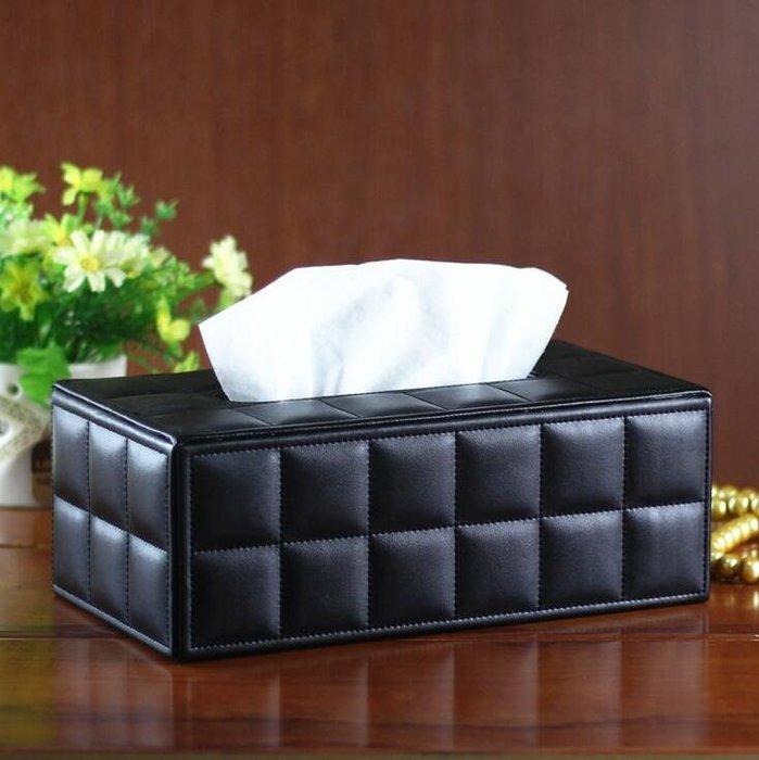 創意家用皮質紙巾盒 抽取式衛生紙盒抽紙盒 歐式酒店抽紙盒 辦公家用餐巾紙抽盒 餐巾紙盒7228