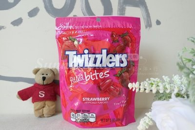 【Sunny Buy】◎預購◎ Twizzlers 一口夾心 草莓口味 扭扭糖蠟燭糖吸管糖