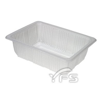 PC-1520-50封口食品盒(底)(PP) (糖果/捲心酥/點心盒/餅乾/方型塑膠盒/甜點)