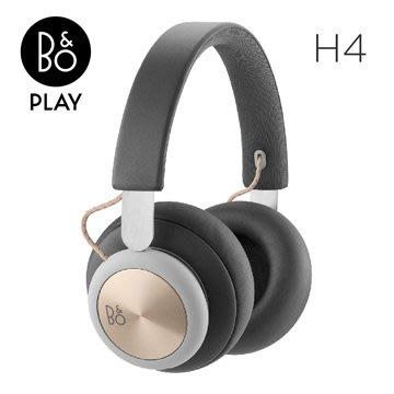 【福利品限量出清!】B&O PLAY H4 藍牙 無線 耳罩式 耳機 北歐極簡風 丹麥皇室御用 炭灰金 公司貨