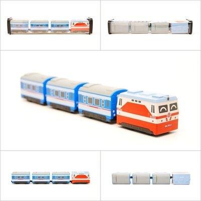 【喵喵模型坊】TOUCH RAIL 鐵支路 Q版 韶山6型電力機車小列車 (QV033T1)