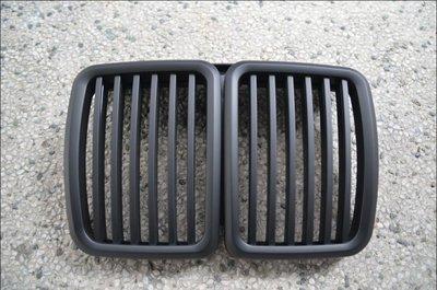 {阿勳精品}~ BMW E30 全新外銷 A級款 消光黑 水箱護罩..