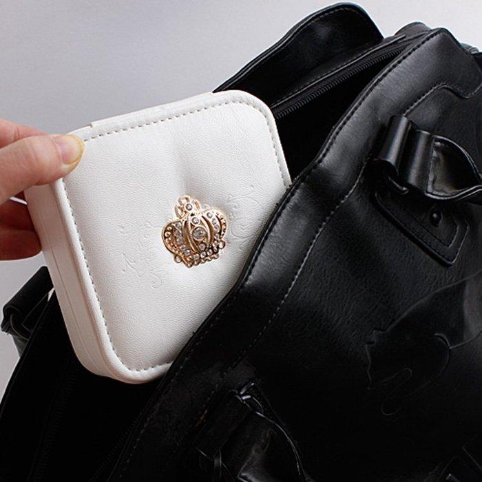 【極簡時尚】手飾盒旅行携帶型珠寶盒飾品盒耳環項鍊飾品小收納盒