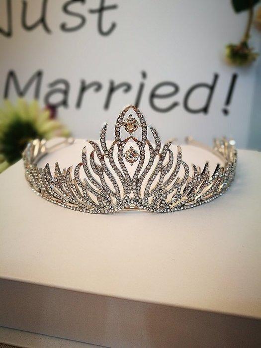新娘飾品瑪姬主義-  A0081精靈公主皇冠系列--新娘秘書新秘用品婚禮配飾專賣--
