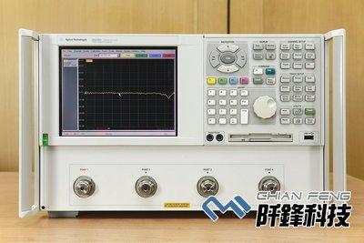 【阡鋒科技 專業二手儀器】安捷倫 Agilent N5230A 4port 300kHz-13.5GHz 向量網路分析儀