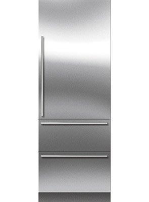 唯鼎國際【美國Sub-zero冰箱】ICBIT-30CIID隱藏式上門下兩抽冰箱 上冷藏下冷凍冰箱