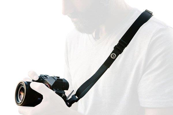 【美國卡司丁™】相機背帶『微背帶 Slim Strap』快速調整長度_結合了真皮_優質尼龍_時尚耐用
