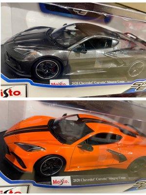 ✶78shop✶ 現貨 1/18 Maisto Bburago Chevrolet Stingray Coupe