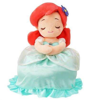 【日本人氣商品】公主系列 Q版 小美人魚 愛麗兒 暖暖毯/毯子/收納毯