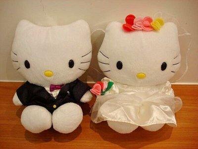 麥當勞限量絕版 HELLO KITTY Wedding Gown 婚禮服娃娃 婚禮娃娃玩偶 限量值得收藏