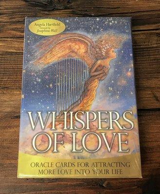 【預馨緣塔羅鋪】現貨正版愛的絮語神諭卡Whispers of love(全新50張)(含中文說明手冊)