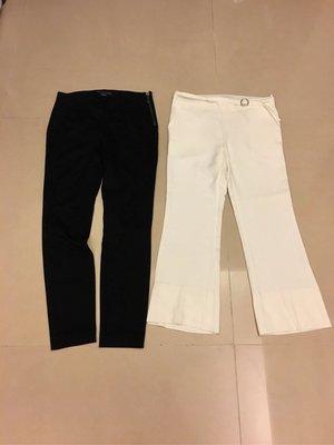 Armani Exchange 窄管褲 黑色 尺寸S $550出清 運50 九成新 購入約四千