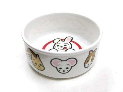 ☆寵輕鬆☆《日本Marukan》兔用 ES-1 精緻陶瓷碗 食碗 (款式隨機出貨)