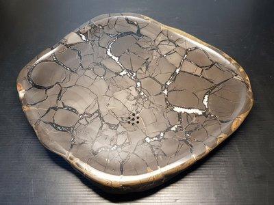 石在有趣~新石器時代@黃龜甲石茶盤@