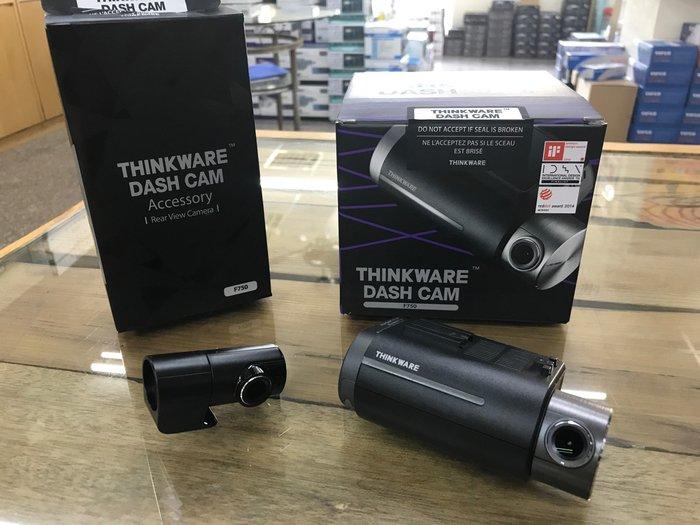 【嘉義.新動力汽車影音】THINKWARE F750 前後雙鏡頭 WIFI行車紀錄器