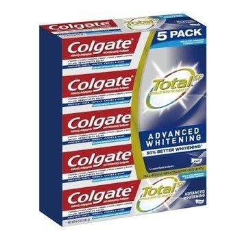 【JM媽咪】costco好市多代購 COLGATE 全效潔白牙膏 181公克5入 #1285702