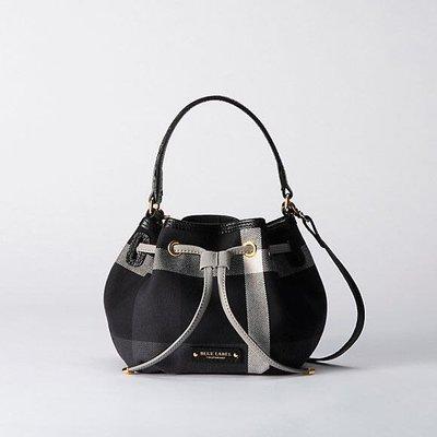 預購 日本製 日本限定 Blue Label crestbridge 經典 兩用 水桶包 小款  黑色 一共有兩個顏色可以選擇