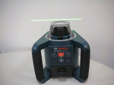 ☆捷成儀器☆BOSCH GRL300HVG 綠光雷射水平儀/綠光水準儀 /旋轉雷射儀