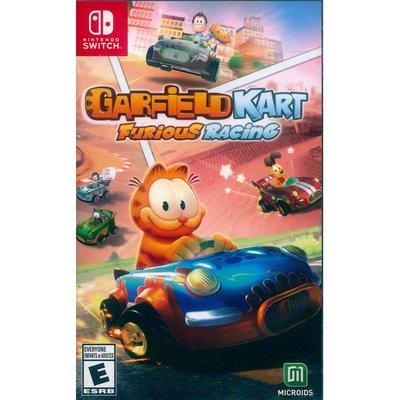 【一起玩】NS SWITCH 加菲貓卡丁車:瘋狂競速 英文美版 Garfield Kart: Furious Race