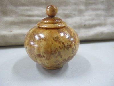 二手舖 NO.4243 天然原木 血龍木 木雕擺飾 小聚寶盆 聞香瓶 重油 閃花 帶財