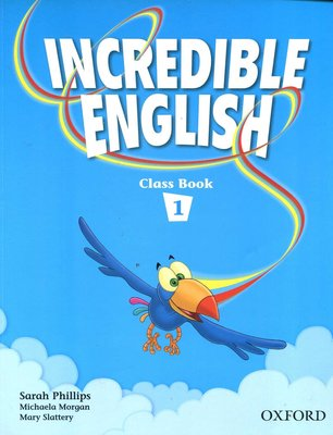 兒童美語系列 Incredible English《1》Class Book  87頁 原價480元