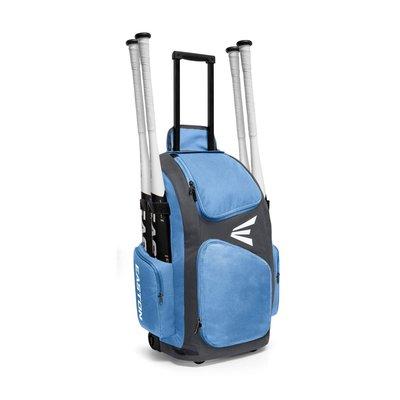 新太陽 EASTON TRAVELER STAND WHEELED A159901 拉桿 滾輪 裝備袋 水藍 特4000
