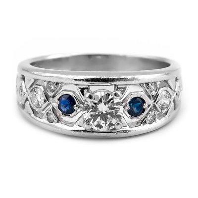 【JHT 金宏總珠寶/GIA鑽石專賣】0.35ct天然鑽石戒指(JB17-09)