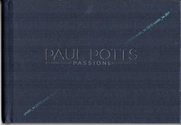 滿3 ~PAUL POTTS 保羅帕茲~PASSIONE~筆記本便條紙星光手札~英國 秀節