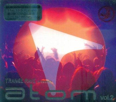 K - Trance Rave Presents Atom Vol.2 - 日版 - NEW