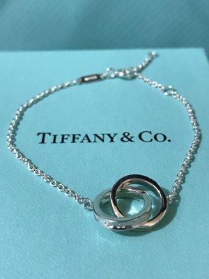 Tiffany鎖環手鐲 送禮自用之選