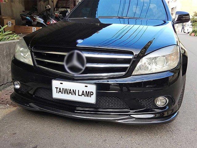 《※台灣之光※》全新現貨供應 賓士 benz  W204跑車式Avantgarde C300大星黑色水箱罩 附大星