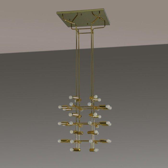 【58街】「立方吊燈」低調奢華極致典雅品味/工程燈具/美術燈。複刻版。GH-572
