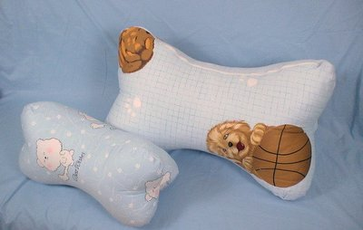 大抱枕.靠枕~抬腿枕.萬用枕.大狗骨頭58CM.高級精梳棉~多款花色