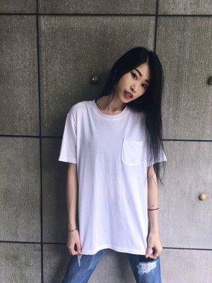 【inSAne】 韓國購入 / 口袋短TEE / K0009 /大地色 / 綠色 & 白 & 深灰色 單一尺寸