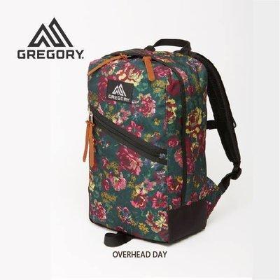 【GREGORY】OVERHEAD DAY 花園油彩 22L 多功能健行登山背包筆電背包自助旅行後背包潮包