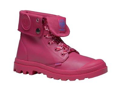 =CodE= PALLADIUM MONO CHROME BAGGY WP 防水皮革軍靴(桃紅) 73966-684 女