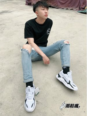 ⚡️潮鞋瘋⚡️泫雅老爹鞋 🇰🇷 韓國 Puma RS-X Core 黑/白 老爹鞋 男女 369666-01現貨