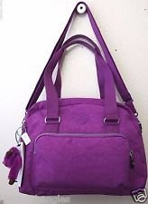 Kipling ** HB6602**紫色側斜背兩用包(有現貨)