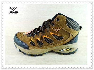 {拾在便宜}JUMP 將門 6508 舒適休閒高筒越野登山鞋 工作鞋