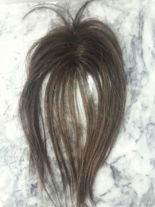 真髮髮片4×5 髮長約28公分